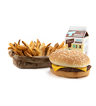 Cheeseburger Meal Image