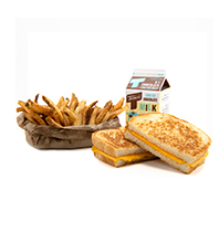 Grilled Cheese Meal Image