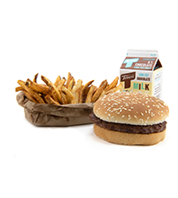Hamburger Meal Image