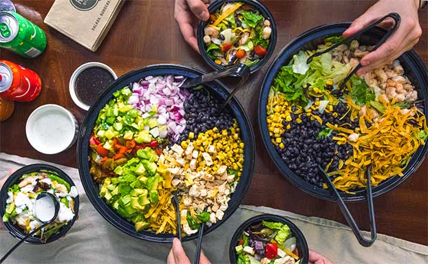 Salads to Share - Family Style!